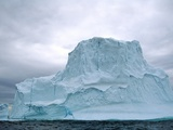 Iceberg, Witless Bay Ecological Reserve, Newfoundland, Canada Photographic Print by  Barrett & Mackay
