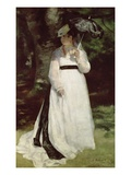 Portrait of Lise Giclee Print by Pierre-Auguste Renoir
