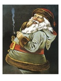 His Dimples How Merry! Giclee Print by William Roger Snow