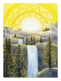 Solar Plexus Chakra Giclee Print