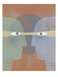 Face To Face Giclee Print