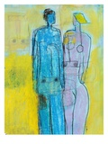 Couple Premium Giclee Print by Marie Bertrand