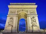 Arc de Triomphe Photographic Print by Peet Simard