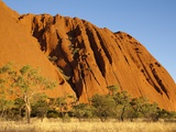 Ayers Rock in the Australian Outback Photographic Print by Paul Souders