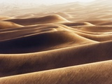Dunes at Erg Awbari during sand storm Photographic Print by Frank Krahmer