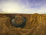 Horseshoe Bend on the Colorado River in Glen Canyon Photographic Print by John Eastcott & Yva Momatiuk