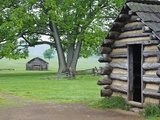 Cabin in Valley Forge National Historic Park Photographic Print by William Manning