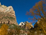 Stars at Zion National Park Photographic Print by Mark A. Johnson