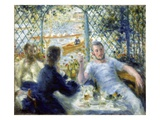 Lunch at the Restaurant Fournaise (The Rowers&#39; Lunch) Giclee Print by Pierre-Auguste Renoir