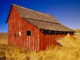 Weathered Old Barn on Ranch Photographic Print by Terry Eggers