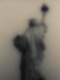 Diffused image of the Statue of Liberty Photographic Print by Ken Rosenthal
