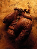 Boxing Gloves Photographic Print by Thomas Francisco