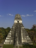 Temple I or Temple of the Giant Jaguar at Tikal Photographie par Danny Lehman