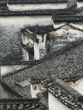 Tiled roof in Xidi, China Photographic Print by Yang Liu