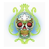 Mexican Skull Giclee Print