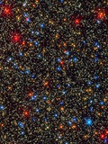 Globular Cluster Omega Centauri imaged with Hubble&#39;s WFC3 detector Photographic Print