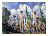 The Bathers Giclee Print by Paul Cézanne