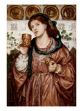 The Loving Cup Giclee Print by Dante Gabriel Rossetti