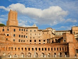 Trajan's Forum Photographic Print by Sylvain Sonnet