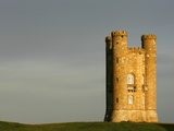Broadway Tower standing prominently in the Cotswolds Photographic Print by Glyn Thomas