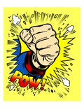 Powerful Punch Gicl&#233;e-Druck