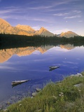 Spillway Lake and the Opal Range, Peter Lougheed Provincial Park, Kananaskis Country, Alberta, Cana Photographic Print by Darwin Wiggett