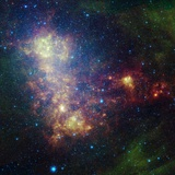 Small Magellanic Cloud Photographic Print
