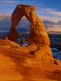 Delicate Arch at Sunset Photographic Print by George H.H. Huey
