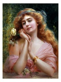 A Summer Reverie Giclee Print by Emile Vernon