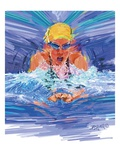 Swimmer Giclee Print