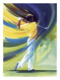 Motion of a Golf Swing Giclee Print