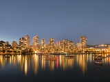 Vancouver skyline Photographic Print by Benjamin Rondel