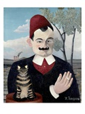 Portrait of Monsieur X (Pierre Loti) Giclee Print by Henri Rousseau