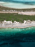 Aerial View of Exuma Cays, Bahamas Photographic Print by Onne van der Wal