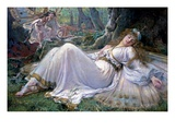 Titania Giclee Print by Frederick Howard Michael