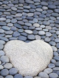 Heart Shaped Stone Photographic Print by Redinger-Libolt