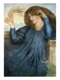 La Donna della Flamma Giclee Print by Dante Gabriel Rossetti