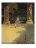 Prince Agib Reproduction procédé giclée par Maxfield Parrish