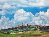 Pienza Photographic Print by Frank Krahmer