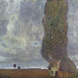 A Gathering Storm (The Grand Aspen II) Photographic Print by Gustav Klimt