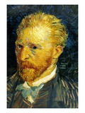 Self Portrait Giclee Print by Vincent van Gogh