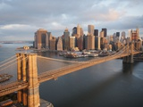 Brooklyn Bridge, New York Fotografiskt tryck av Cameron Davidson