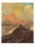 City of Brass Giclée-Druck von Maxfield Parrish