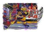 Hockey Game Giclee Print