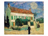 White House at Night Giclée-Druck von Vincent van Gogh