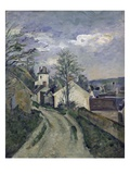 The House of Dr. Gachet at Auvers Giclee Print by Paul Cézanne