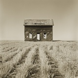 Abandoned Farm House Still Standing Photographic Print by Tom Marks