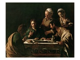 Supper at Emmaus Reproduction proc&#233;d&#233; gicl&#233;e par Caravaggio 