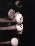 Close Up/Baseball Bats Fotografie-Druck von Jose Molina
