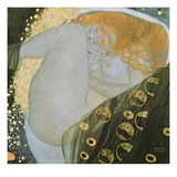 Danae Giclee Print by Gustav Klimt